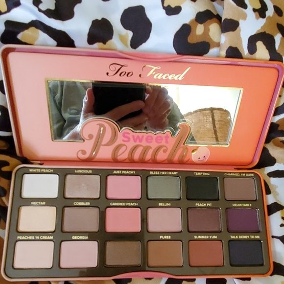 Too Faced Other - Too Faced Sweet Peach Eyeshadow Palette